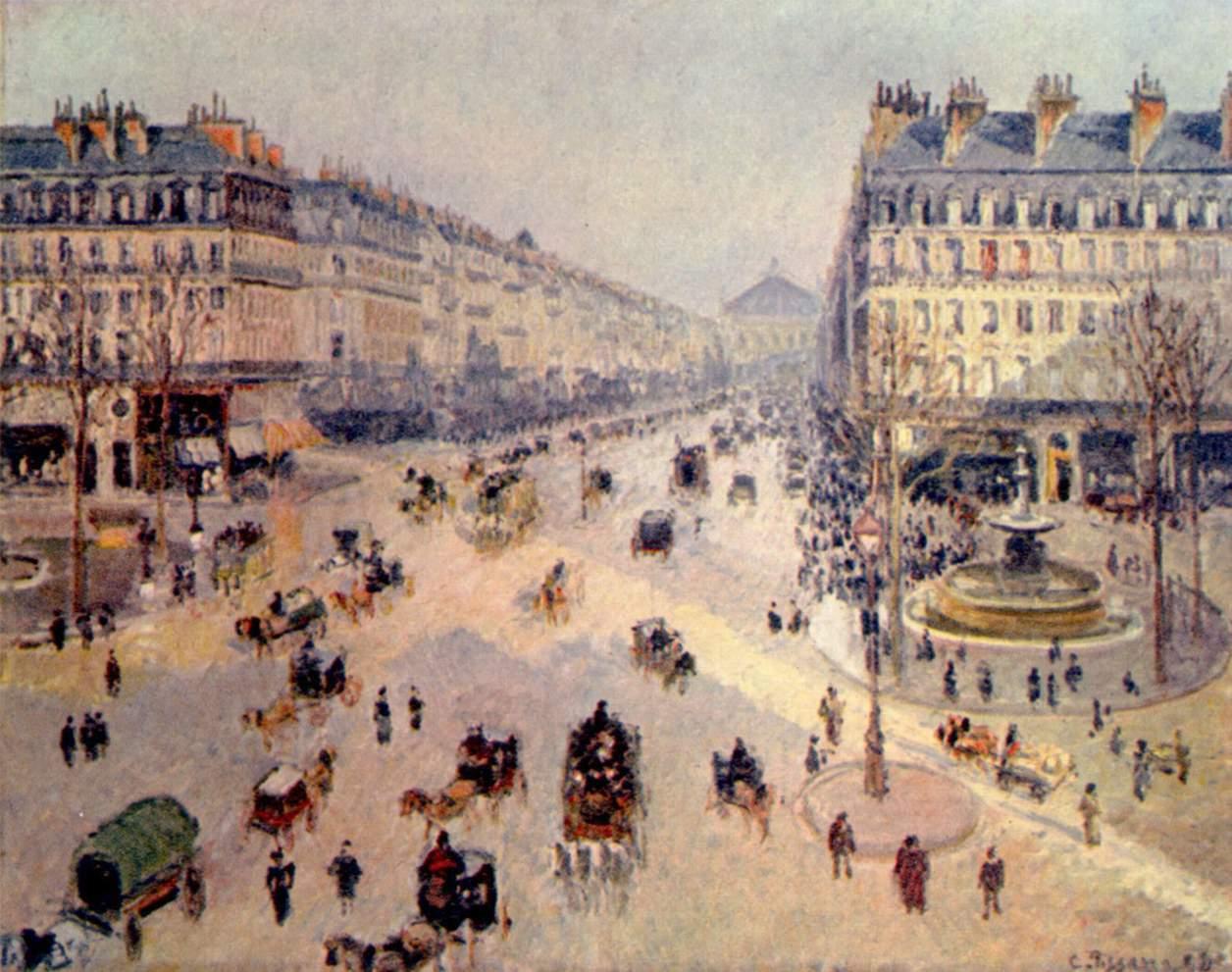 Avenue de l'Opera Paris